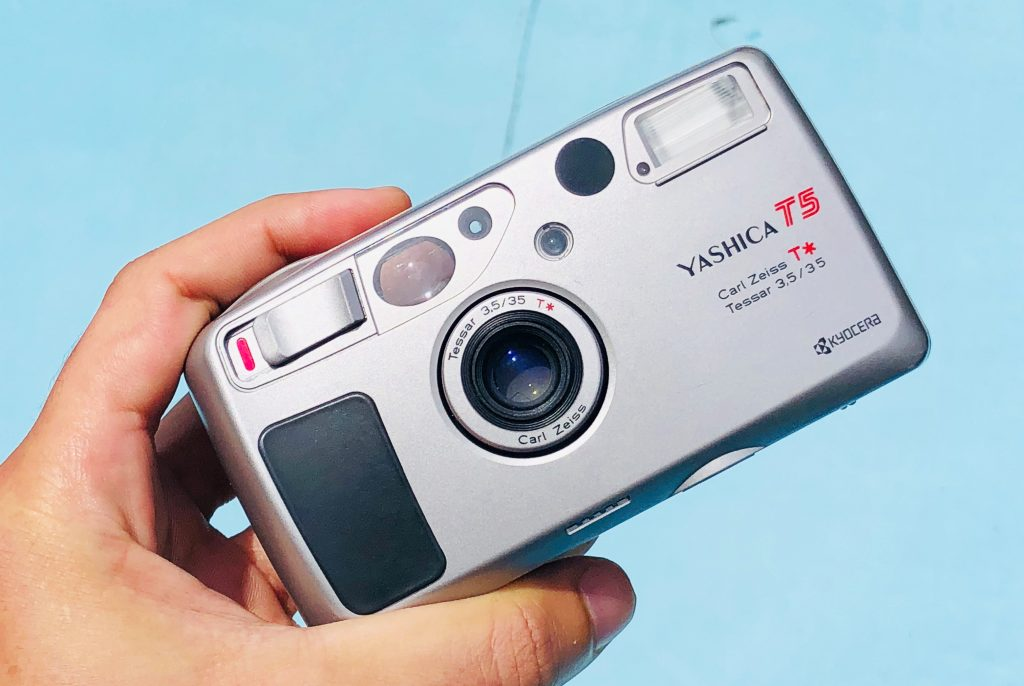 buy Yashica T5 35mm point and shoot film camera