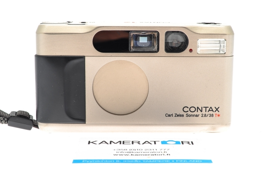 buy point and shoot compact film camera Contax T2