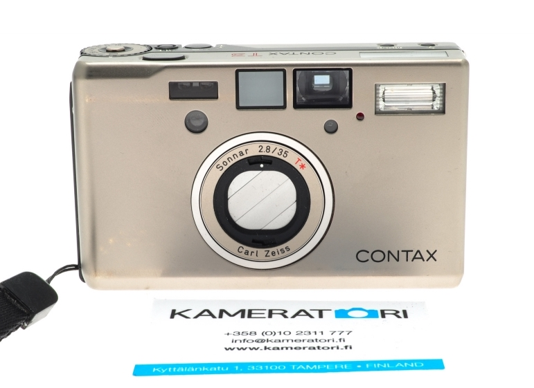 buy point and shoot compact film camera Contax T3