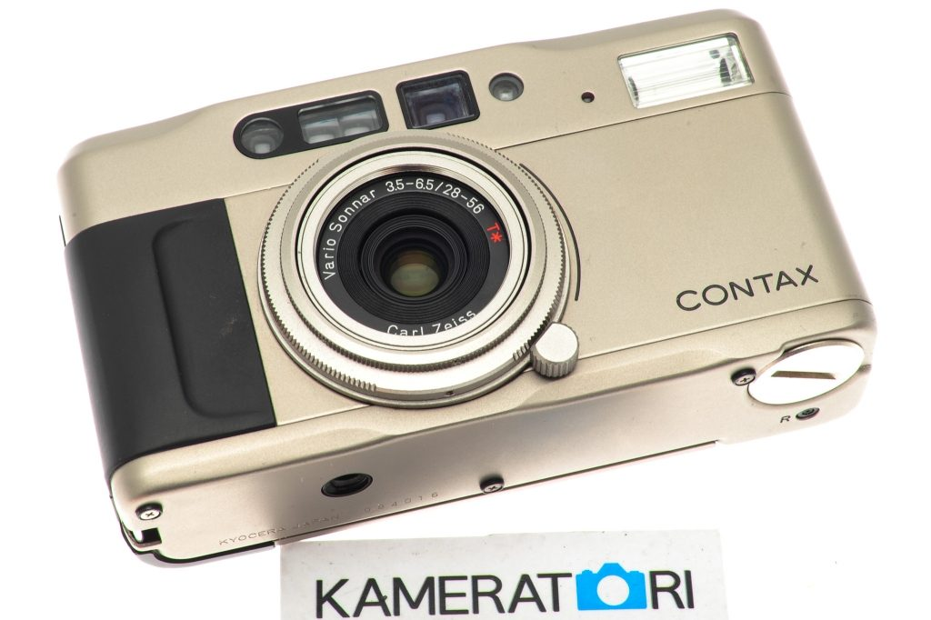 buy point and shoot compact film camera Contax TVS