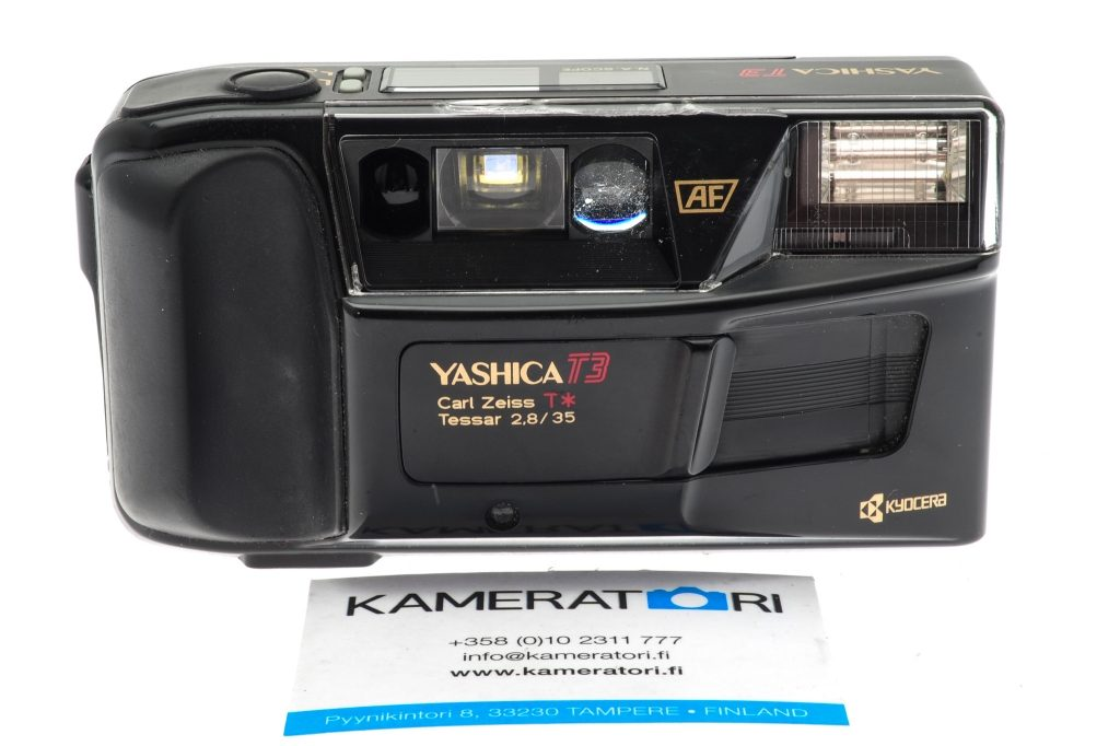 buy point and shoot compact film camera Yashica T3