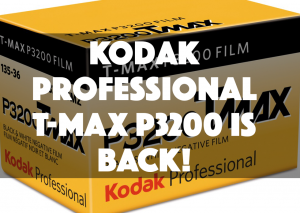Kodak Professional T-MAX P3200 is BACK!