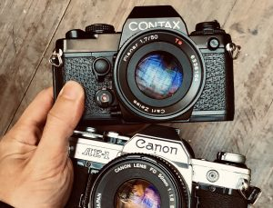 CONTAX 139Q – Best CANON AE-1 Alternative?
