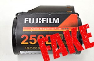 Fake Fujifilm 35mm Color Film Found in Japan