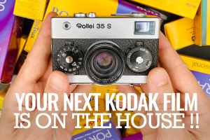 Your Next Kodak Film is on the House