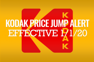 Kodak Price Increase Coming on ALL FILMS