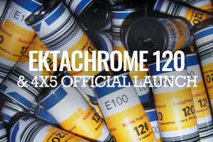 Launching of Kodak EKTACHROME E100 in 120 & 4×5