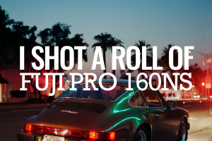 I Shot a Roll of Fuji Pro 160NS by Trevor Dalton