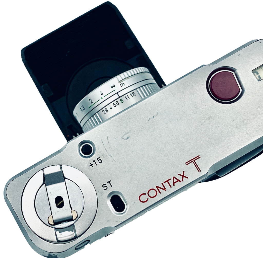 Contax T 35mm point and shoot film camera review with samples