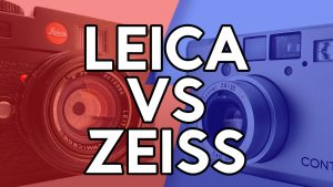 Are You a Leica OR Zeiss Person? Leica M6 vs Contax T3